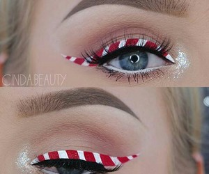 beautiful, makeup, and eyes liner image