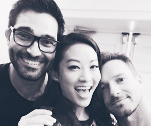teen wolf, tyler hoechlin, and ian bohen image