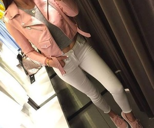 fashion, pink, and goals image