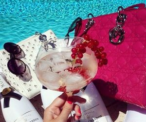 pool, dior, and luxury image