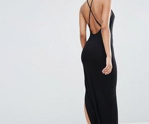 asos, black, and dress image