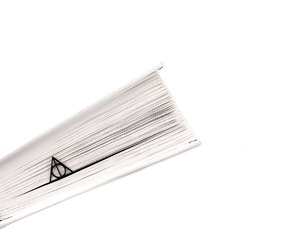 bookmark, bookmarks, and deathly hallows image