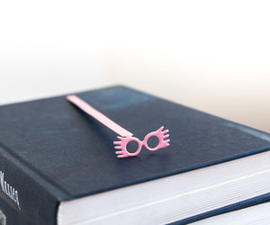 book worm, bookmark, and etsy image