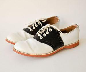 saddle shoes image
