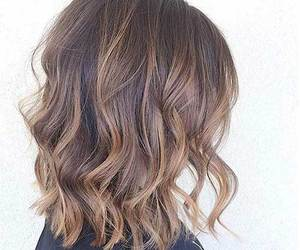 curly, straight, and ombre image