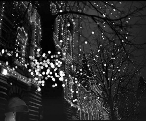 light, christmas, and black image