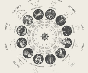 zodiac, virgo, and astrology image