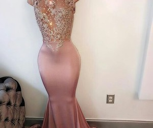 prom dress, Prom, and dress image