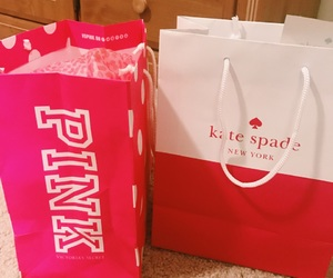 kate spade, shopping, and victoria secret image