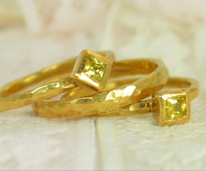 engagement ring, weddingring, and square ring image
