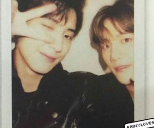 exo, baekhyun, and chanyeol image