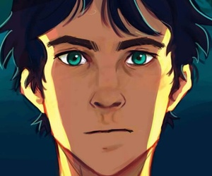 percy jackson, demigod, and heroes of olympus image