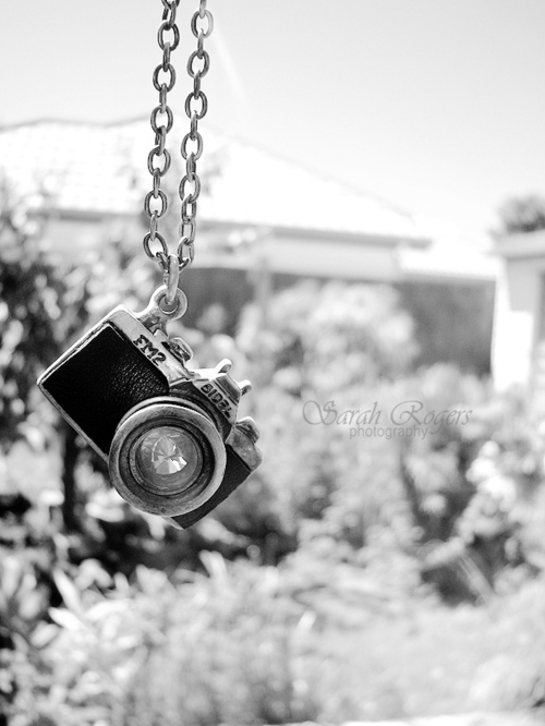Black And WhiteCameraJewelleryJewelryNecklacePhotography