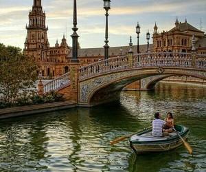 spain, sevilla, and travel image
