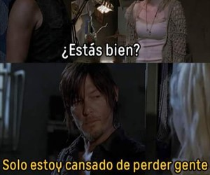 muerte, the walking dead, and daryl dixon image