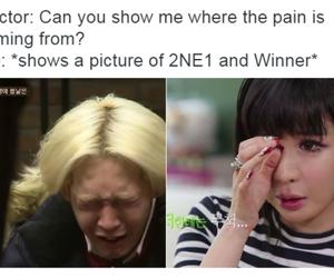 2ne1, winner, and taehyun image