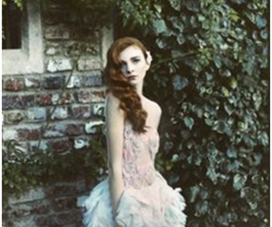ginger hair, photography, and abigail's garden image