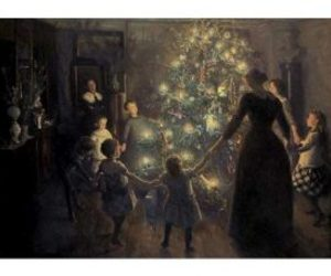 christmas card, victorian, and victorian christmas image