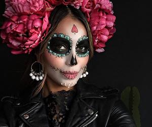 make up and Halloween image
