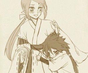 sakura haruno, indrasaku, and indra otsutsuki image