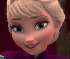 frozen, elsa, and smile image