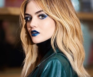 lucy hale, pretty little liars, and blue image