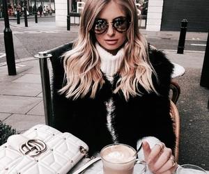 fashion, coffee, and theme image
