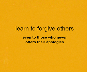 forgive, forgiveness, and orange image
