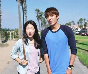lee minho, kdrama, and park shinhye image