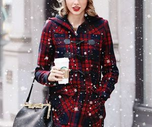 Taylor Swift, winter, and snow image