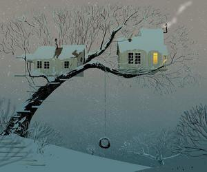art, pascal campion, and winter image