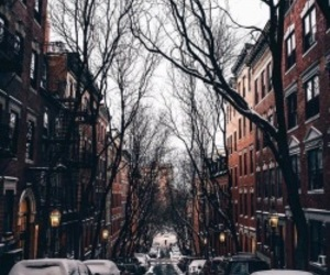 winter, city, and autumn image