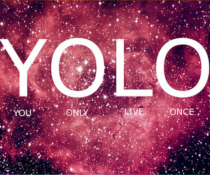 yolo, galaxy, and text image