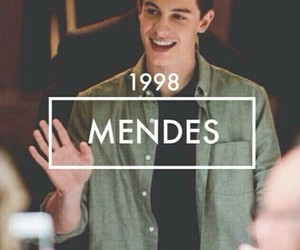 shawn mendes, mendes, and 1998 image