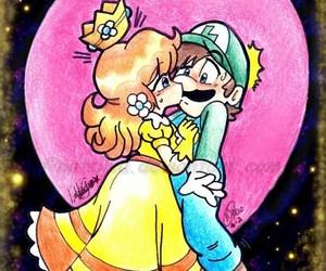 luigi bros and princesa daisy image