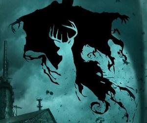 harry potter, dementor, and patronus image