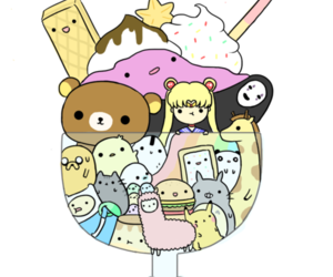 kawaii, sailor moon, and adventure time image