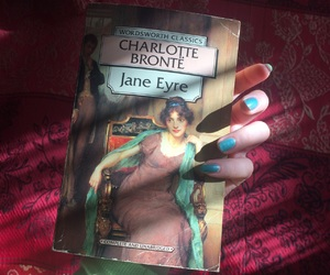books, reading, and janeeyre image