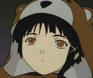 serial experiments lain and anime image
