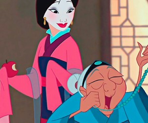 mulan, disney, and movie image