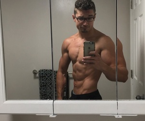 abs, six pack, and fitness image