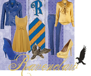 Polyvore and ravenclaw image