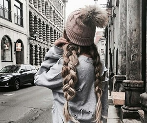 beautiful, hair, and fashion image