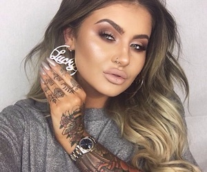 ink, sexy, and fingertattoo image