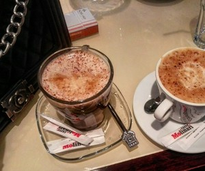 bag, cappuccino, and chanel image