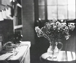 flowers, vintage, and morning image