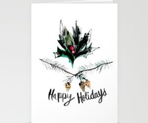 christmas, greeting card, and holiday image