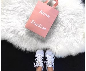 clothes, pink, and acne studio image