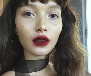 makeup, fashion, and model image