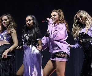 little mix, girl band, and purple image